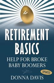 RETIREMENT BASICS by Donna Davis