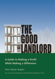 The Good Landlord by Peter Shapiro
