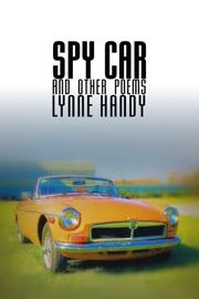 SPY CAR AND OTHER POEMS by Lynne Handy
