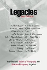 LEGACIES by Janis  Bultman
