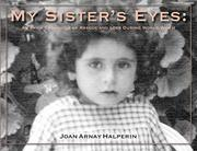 MY SISTER'S EYES by Joan Arnay  Halperin