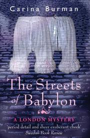 Cover art for THE STREETS OF BABYLON