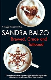 Book Cover for BREWED, CRUDE AND TATTOOED