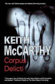 Book Cover for CORPUS DELICTI