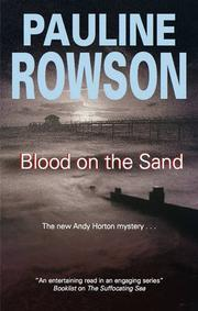 Cover art for BLOOD ON THE SAND