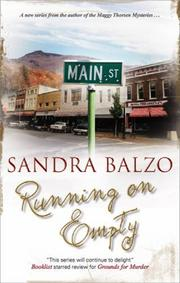 RUNNING ON EMPTY by Sandra Balzo
