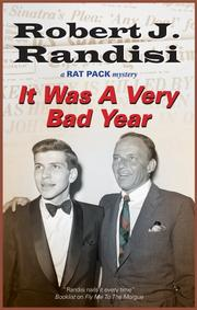 Book Cover for IT WAS A VERY BAD YEAR