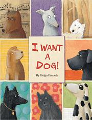 I WANT A DOG! by Helga Bansch