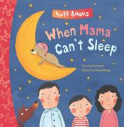 Book Cover for WHEN MAMA CAN'T SLEEP