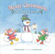 Cover art for MERRY CHRISTMAS, MR. SNOWMAN