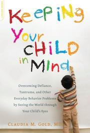 Cover art for KEEPING YOUR CHILD IN MIND