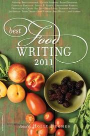 Book Cover for BEST FOOD WRITING 2011
