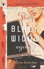 THE BLACK WIDOW AGENCY by Felicia Donovan