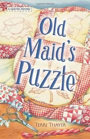 Book Cover for OLD MAID'S PUZZLE