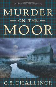 Cover art for MURDER ON THE MOOR