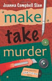 Cover art for MAKE, TAKE, MURDER
