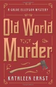 OLD WORLD MURDER by Kathleen Ernst