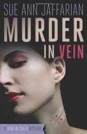 Book Cover for MURDER IN VEIN