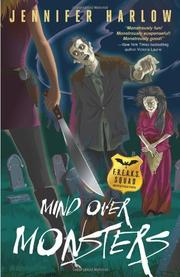 MIND OVER MONSTERS by Jennifer Harlow