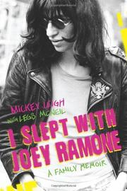 I SLEPT WITH JOEY RAMONE by Mickey Leigh