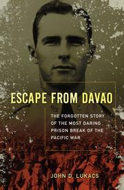 Book Cover for ESCAPE FROM DAVAO