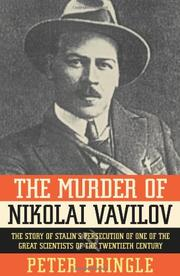 Cover art for THE MURDER OF NIKOLAI VAVILOV