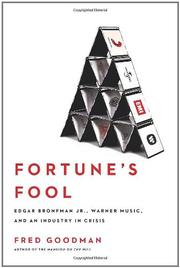 Cover art for FORTUNE'S FOOL