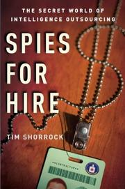 Cover art for SPIES FOR HIRE