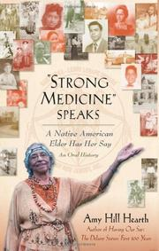 """STRONG MEDICINE"" SPEAKS by Amy Hill  Hearth"