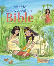 Book Cover for I WANT TO KNOW ABOUT THE BIBLE