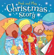 PEEK AND PLAY CHRISTMAS STORY by Christina Goodings