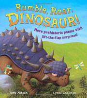 Cover art for RUMBLE, ROAR, DINOSAUR!