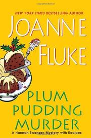 Cover art for PLUM PUDDING MURDER
