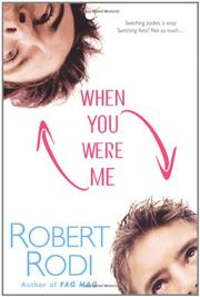 Cover art for WHEN YOU WERE ME