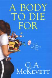 Cover art for A BODY TO DIE FOR