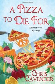 Book Cover for A PIZZA TO DIE FOR