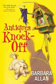 Cover art for ANTIQUES KNOCK-OFF