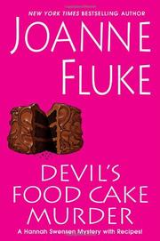 Book Cover for DEVIL'S FOOD CAKE MURDER