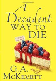 Book Cover for A DECADENT WAY TO DIE