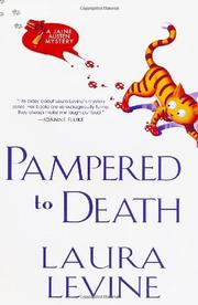 Book Cover for PAMPERED TO DEATH