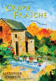 Cover art for CRIME FRAÎCHE
