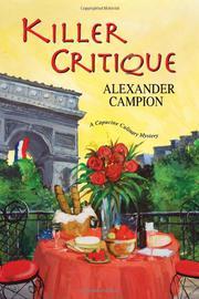 KILLER CRITIQUE by Alexander Campion