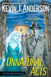 Book Cover for UNNATURAL ACTS