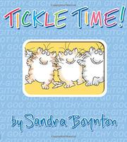 TICKLE TIME! by Sandra Boynton