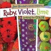 Book Cover for RUBY, VIOLET, LIME