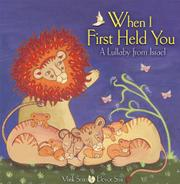 Book Cover for WHEN I FIRST HELD YOU