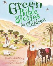 Cover art for GREEN BIBLE STORIES FOR CHILDREN