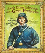 Book Cover for SARAH EMMA EDMONDS WAS A GREAT PRETENDER