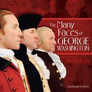Cover art for THE MANY FACES OF GEORGE WASHINGTON