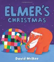 Cover art for ELMER'S CHRISTMAS